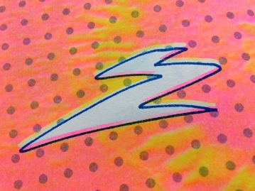 "Inside detail for ""ÉCHT?!"" zine, 2018"