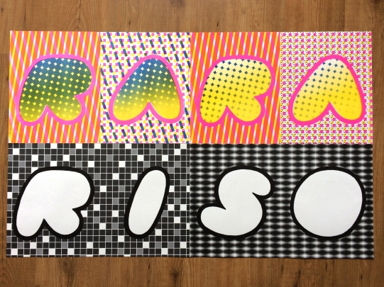 RARARISO wallpaper set, 2018
