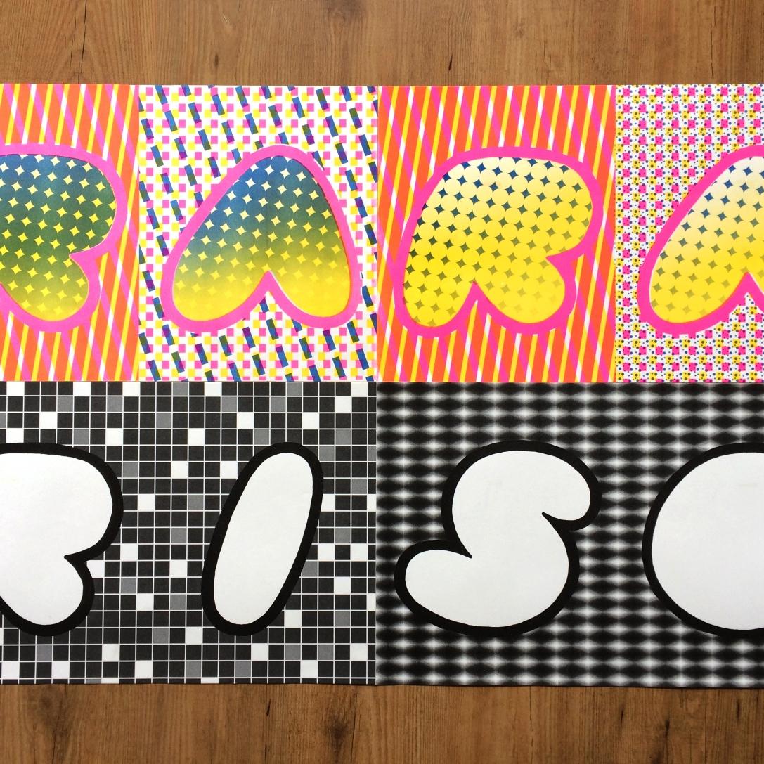 RARA RISO wallpaper set 2018 A2 Riso