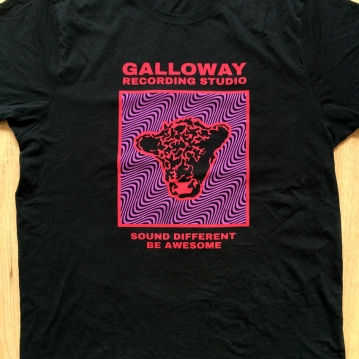 Galloway Studio T-shirt screenprint 2019