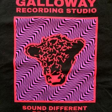 Galloway Studio T-shirt screenprint 2019